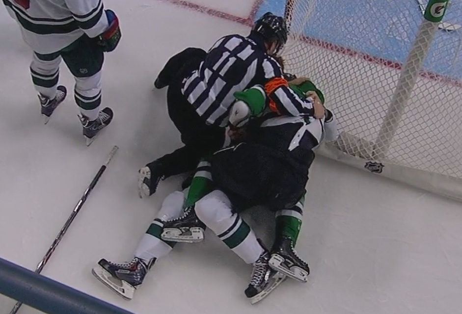 Tonight's NHL Referees & Linesmen – 1/7/15