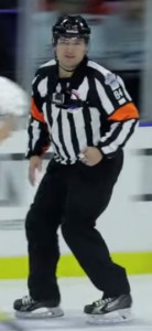 AHL Referee Jamie Koharski