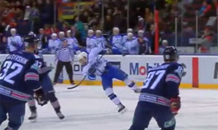 KHL's Dan Sexton Makes Dive of the Year