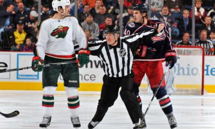 Linesman Vaughan Rody Returns to NHL