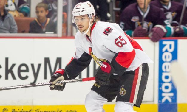 Senators' Karlsson Disagrees With Offside Call