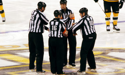 Tonight's NHL Playoff Referees & Linesmen – 4/19/15