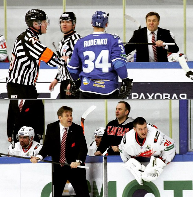Avangard Omsk Coach Raimo Summanen