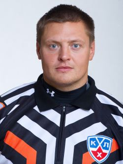 KHL Referee Evgeny Romasko
