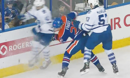 Leafs' Kadri to Have Hearing for Headshot on Oilers' Fraser