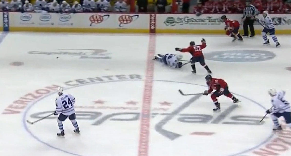 Leafs' Panik Fined $2,000 For Diving