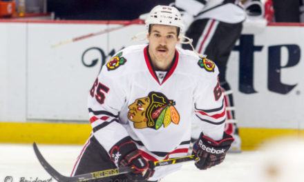 Blackhawks' Shaw Fined For Diving