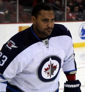 Winnipeg Jets' Dustin Byfuglien