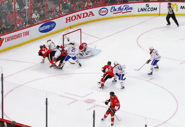 Sens' Suffer Quick Whistle on Potential Game-Tying Goal