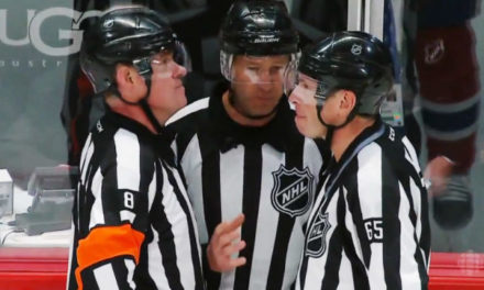 Tonight's NHL Referees & Linesmen – 11/11/15