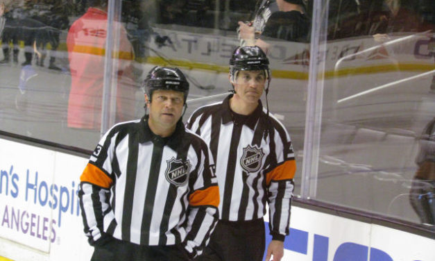 Tonight's NHL Stanley Cup Playoffs Referees & Linesmen – 4/24/16