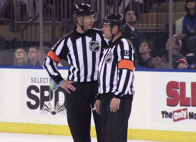 NHL Refs Mic'd Up: Rangers/Lightning Game 1