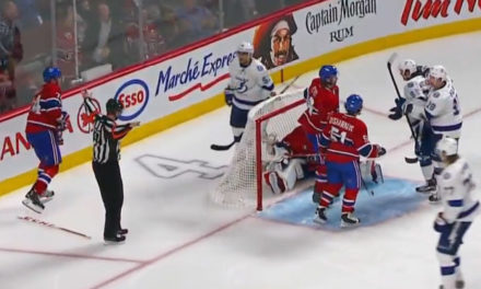 Lightning OT Winner Waved Off By Officials
