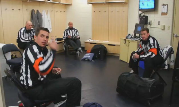NHL Ref's Mic'd Up for Stanley Cup Playoffs