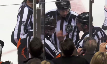 NHL Refs Mic'd Up: Wes McCauley on Blackhawks No Goal