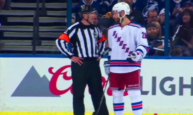 Tonight's NHL Stanley Cup Playoffs Referees & Linesmen – 4/19/16