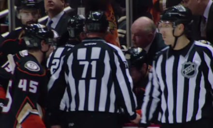 Tonight's NHL Referees & Linesmen – 2/5/16