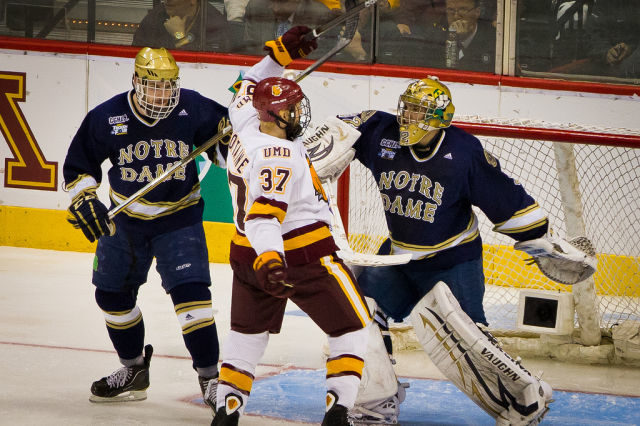 NCAA Considering Rule Change For Incidental Contact with Goaltenders