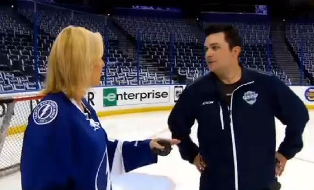 AHL Ref Jamie Koharski Teaches Tampa Fans Hockey 101