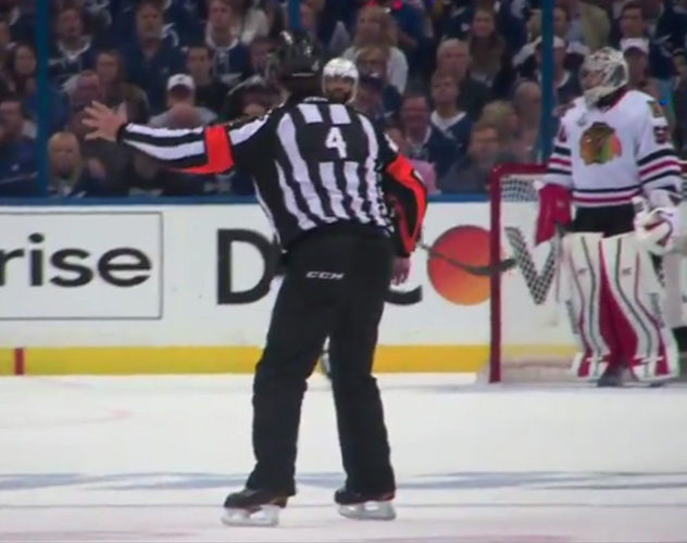 Referee Wes McCauley Mic'd Up for Game 1 of Stanley Cup Final