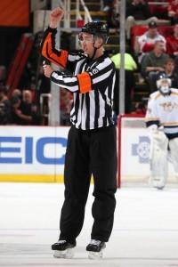 Referee TJ Luxmore