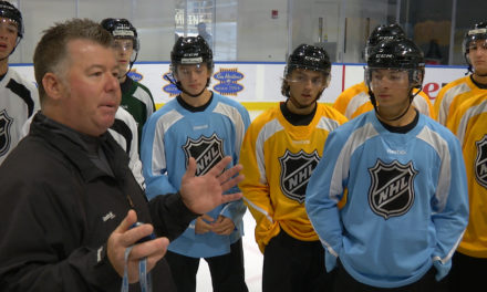 NHL Recruits New Officials at 2015 Amateur Exposure Combine