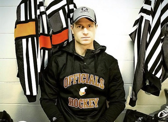 Linesman Devin Berg Set to Make NHL Debut