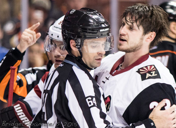 Tonight's NHL Referees & Linesmen – 10/23/15