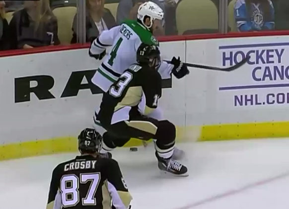 Stars' Demers Suspended 2 Games for Elbowing