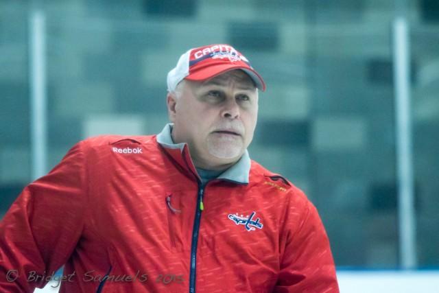 Washington Capitals head coach Barry Trotz (Image: Bridget Samuels)
