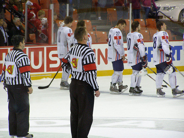 Today's World Juniors Referees & Linesmen – 12/29/15