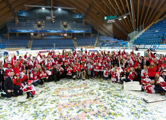 Kimmerly, Vinnerborg Work Spengler Cup Gold Medal Game