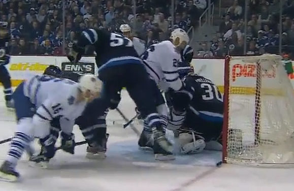 Leafs' Goal Overturned After Coach's Challenge