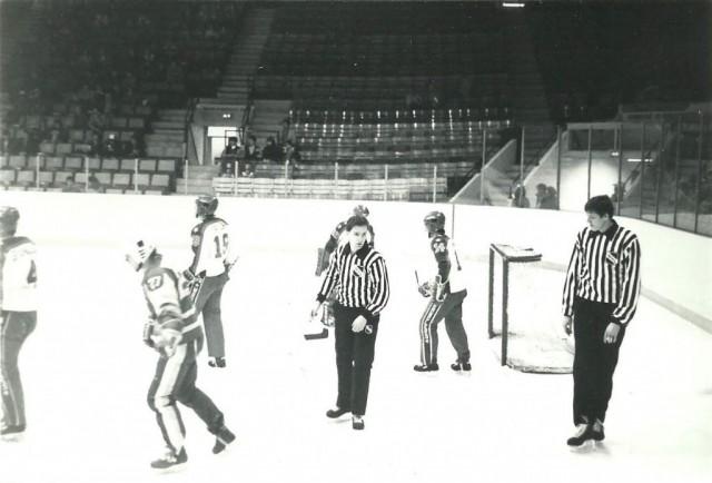 WHL Linesman Mike Cvik