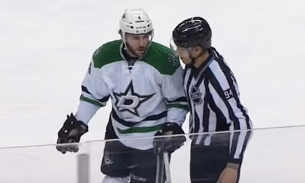 Stars' Demers Ejected for Hit On Isles' Clutterbuck