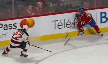 Habs Awarded Penalty Shot After Devils' Tootoo Pushes Stick