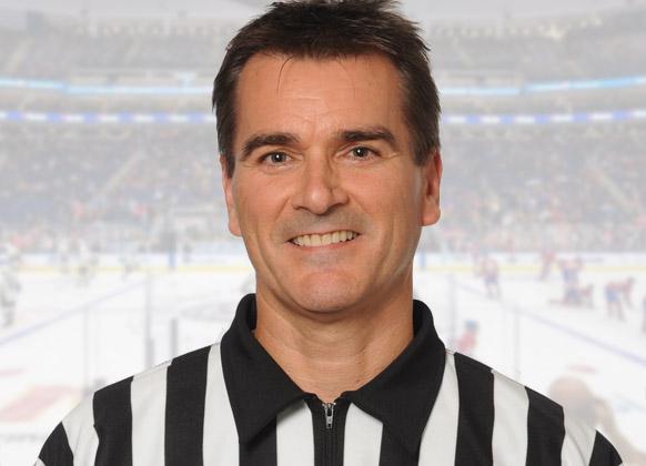 QMJHL Linesman Denis Drolet