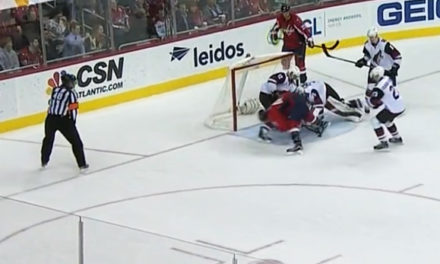 Coyotes' Domingue Calls Out Officials After Loss