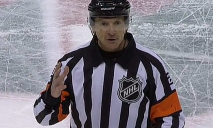 Tonight's NHL Referees & Linesmen – 10/4/17