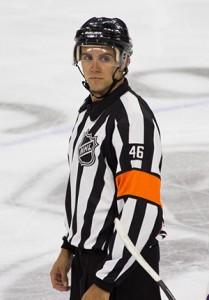 NHL Referee Dave Lewis