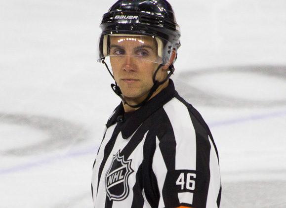 NHL Referee Dave Lewis Talks Off-Ice Preparation