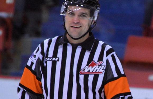 WHL Referee Patrick Gagnon Hangs Up The Skates