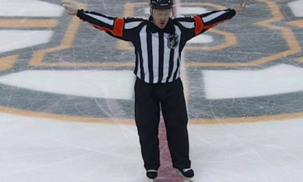 Tonight's NHL Referees & Linesmen – 3/31/16