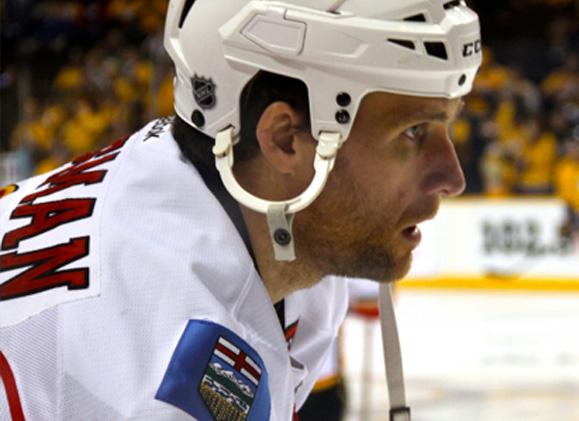 Calgary Flames Defenseman Dennis Wideman (Image: Kristen Jerkins)
