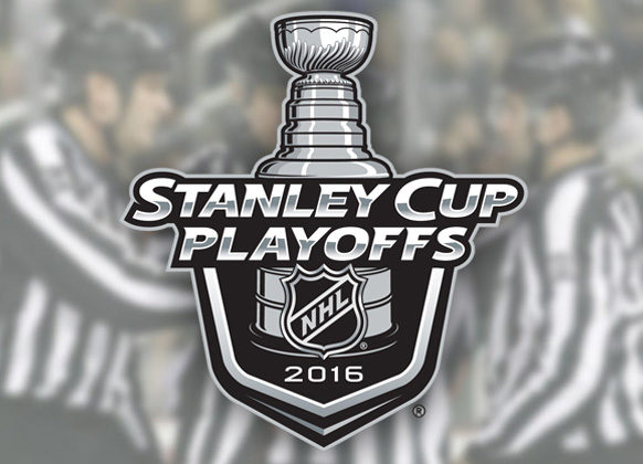Referees & Linesmen for NHL 2016 Stanley Cup Final