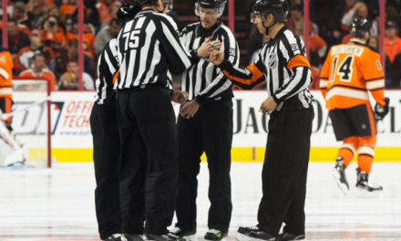 Tonight's NHL Referees & Linesmen – 10/14/16