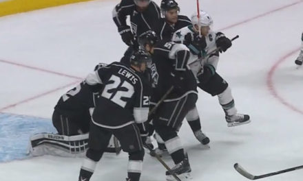 "Refs: ""We Missed It"" On Sharks' Waved-Off Goal"