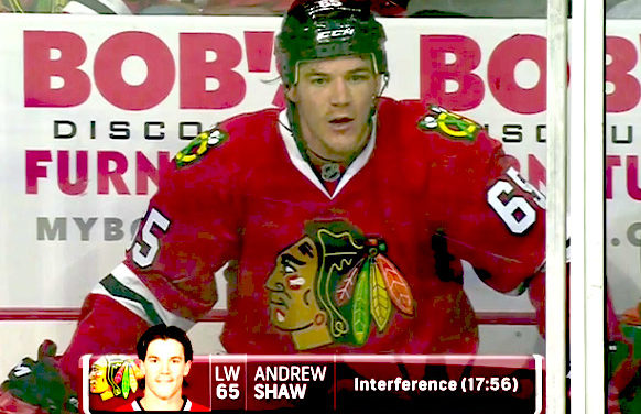 Blackhawks' Shaw Suspended One Game For Anti-Gay Slur