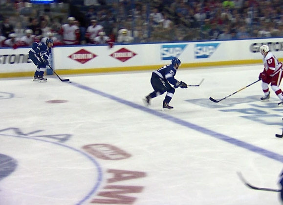 Lightning Go-Ahead Goal Overturned After Coach's Challenge