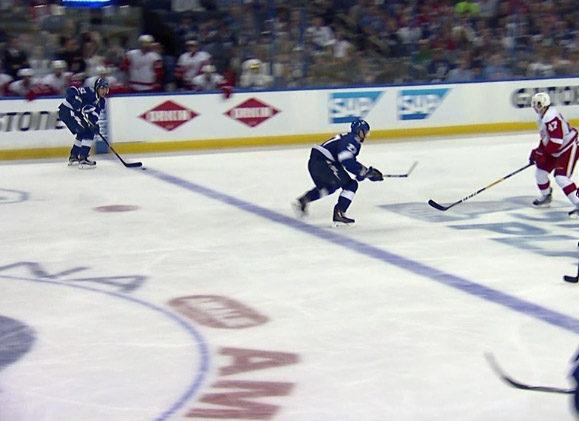 Lightning Go-Ahead Goal Overturned After Coach's Challenge